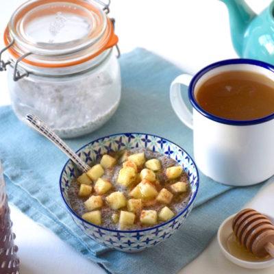 Porridge de chia facile