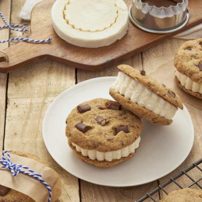SRCF: Sans Recette de Cookies Fixe – Sandwiches de cookies glacés
