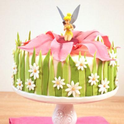 Une pointe d'espièglerie – Gâteau Fée Clochette