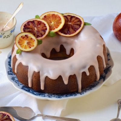 Couleur sanguine – Cake aux oranges sanguines