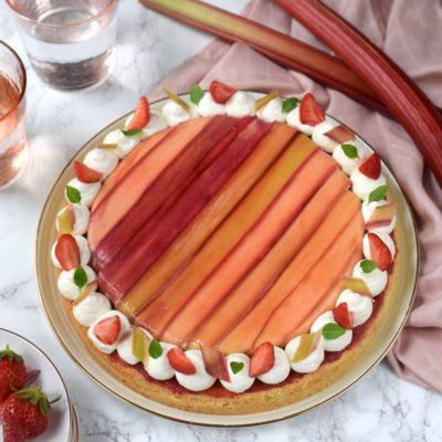 Fantastik rhubarbe vanille de Michalak