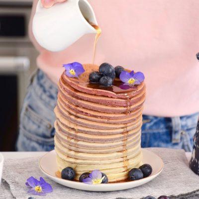 Bon pour la planète – Rainbow pancakes framboise