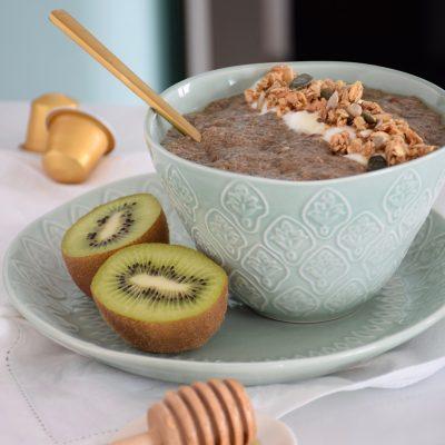 Le plein d'anti-oxydants et d'énergie – Porridge de chia au café