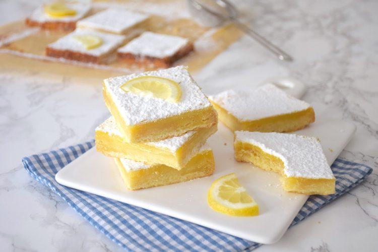 Lemon Bars ou Carrés citron
