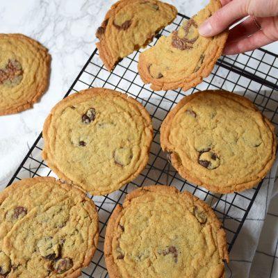 Pan Banging Cookies, les Cookies géant & fripés de Sarah Kieffer
