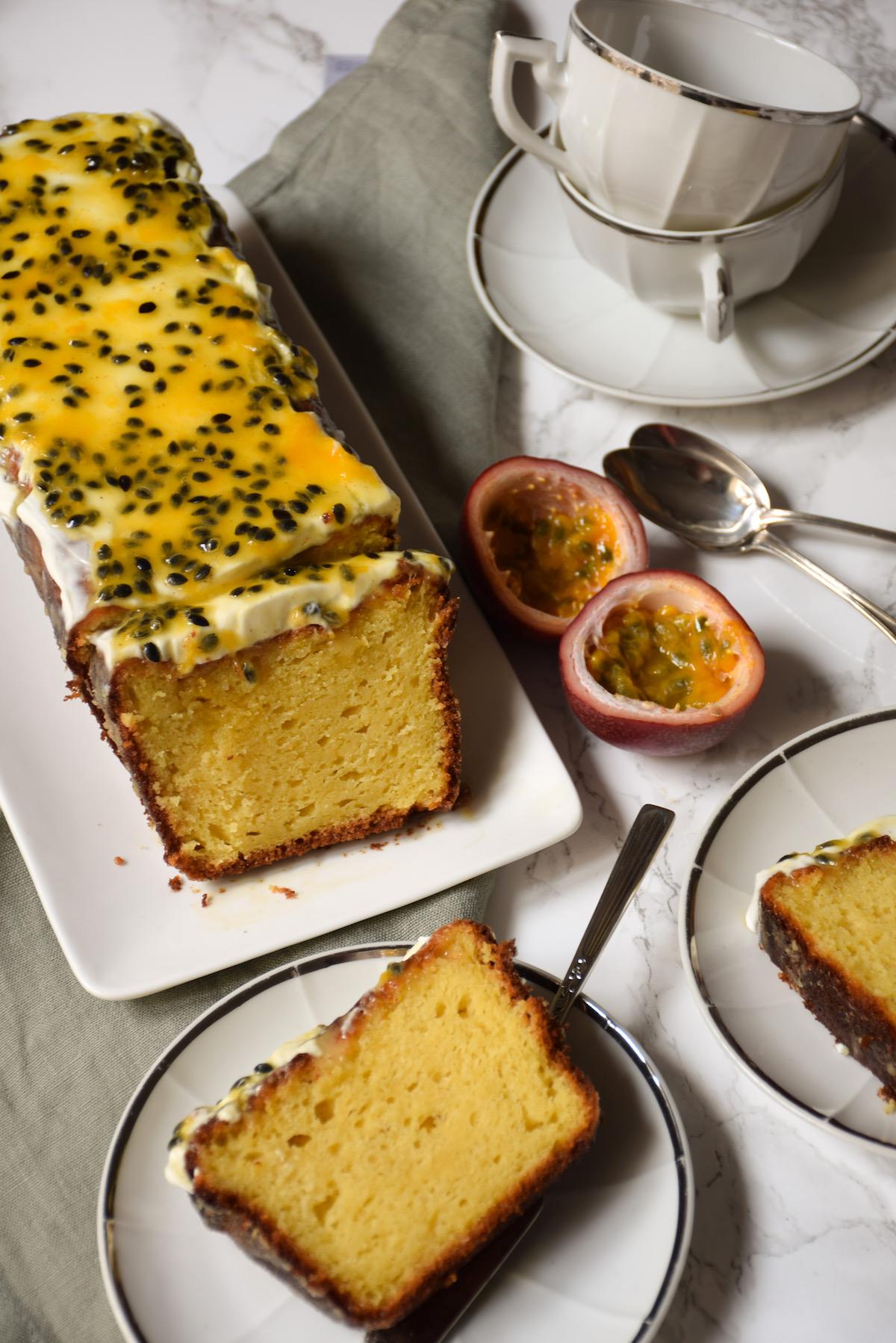 Cake fruit de la passion