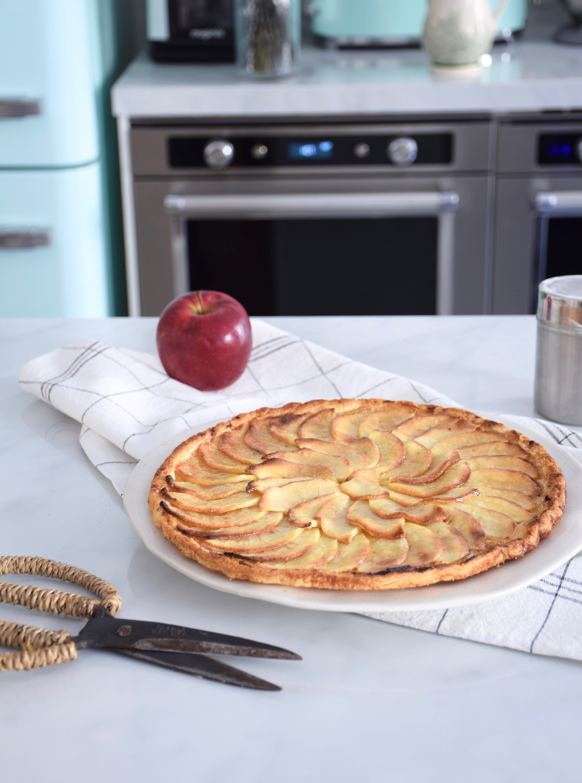 Parfaite tarte fine aux pommes