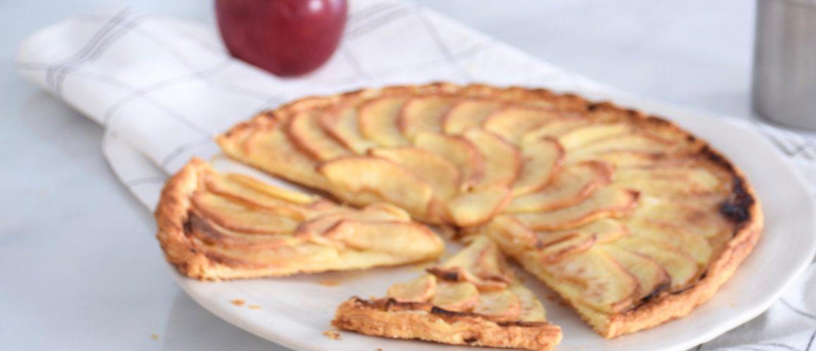 Mes secrets de fabrication – Tarte fine aux pommes