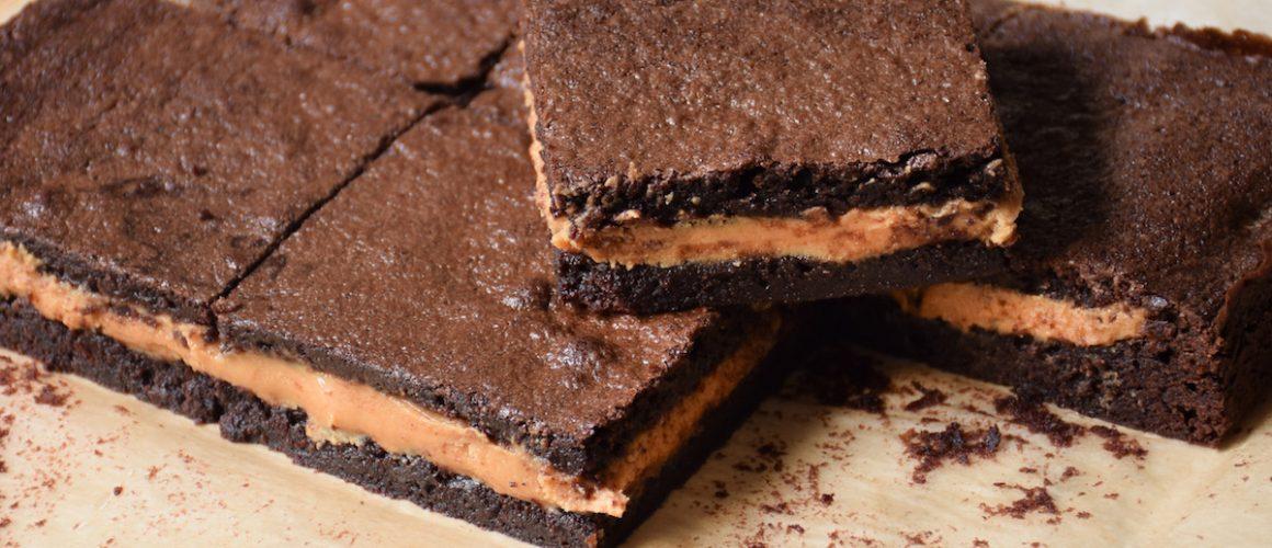 Irrésistibles Brownies beurre de cacahuètes