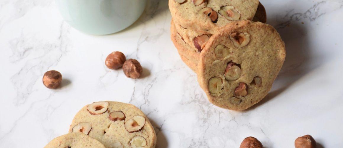 #mondefigoutersmaison – Biscuits noisettes entières