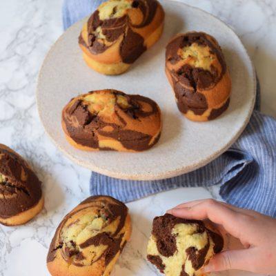 Mini cake marbrés pour le gouter